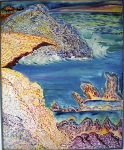 """""""Wild Tenerife"""", acrylic/canvas, 120/90 cm, on Tenerife"""